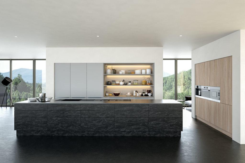 Trendy - Evora Stone, Light Grey & Urban Oak